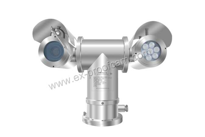 2MP 20X Explosion Proof PTZ Cameras With IR for Harsh Environment